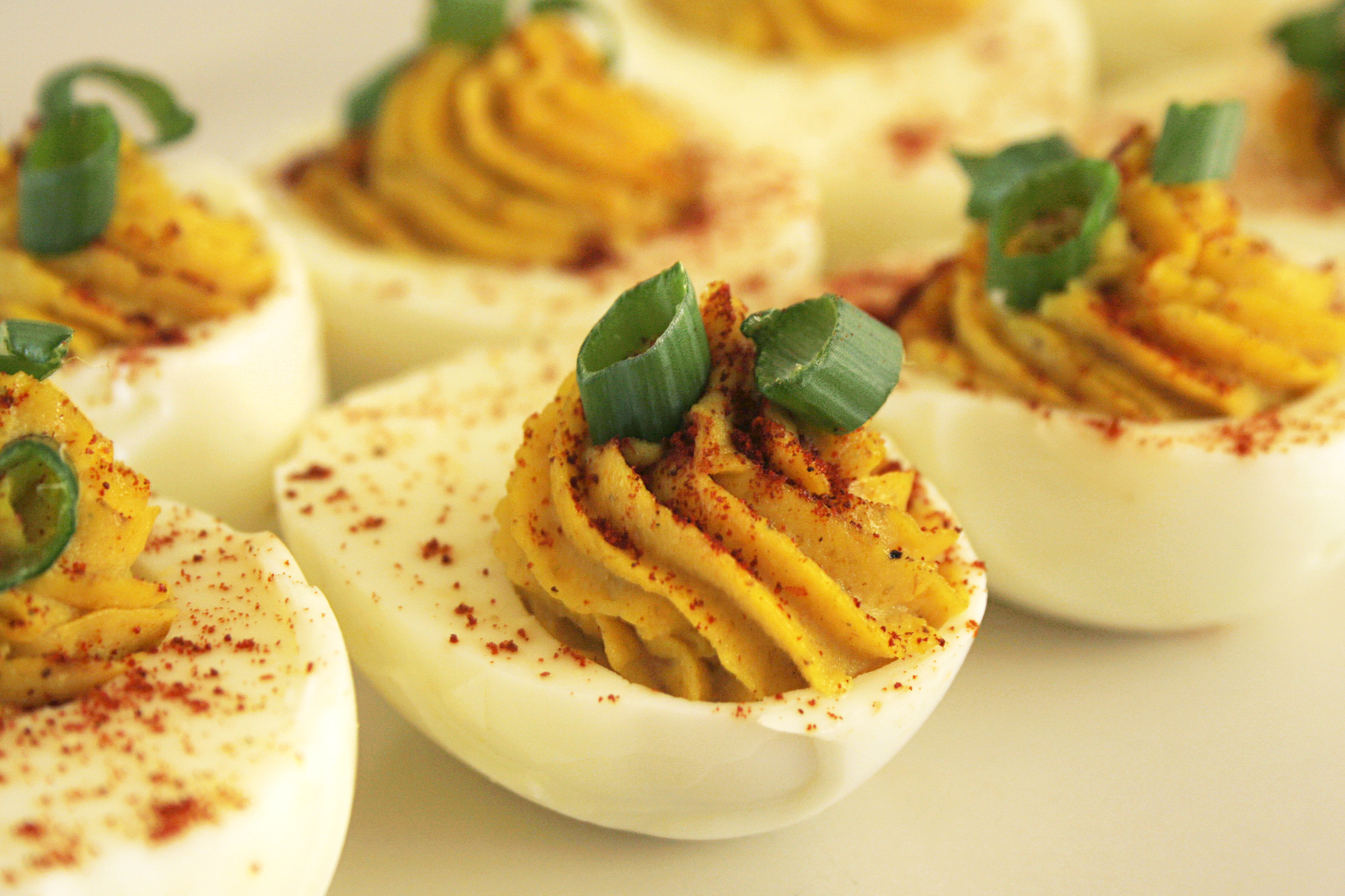 Curried Deviled Eggs Recipe « «
