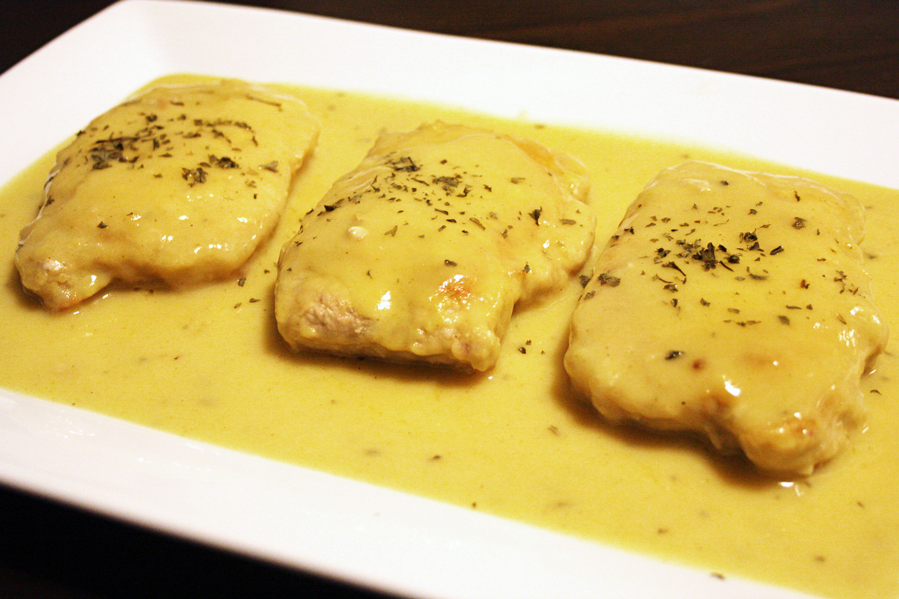 Smothered Pork Chops With Buttermilk Gravy